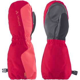 VAUDE Snow Cup III Guanti Bambino rosso